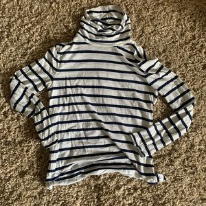 Madewell Striped Turtle Neck